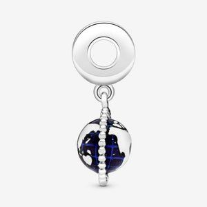 ❤️Pandora Spinning Globe Dangle Charm